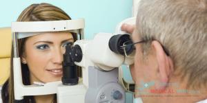 Tarsorrhaphy Temporary One Eye